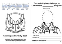mass effect 3 coloring pages - photo#48